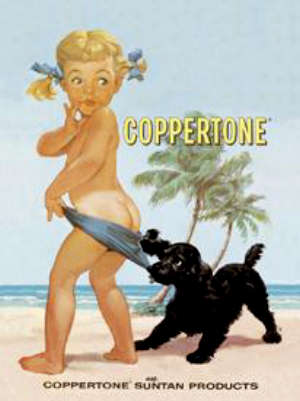 Coppertone Ad