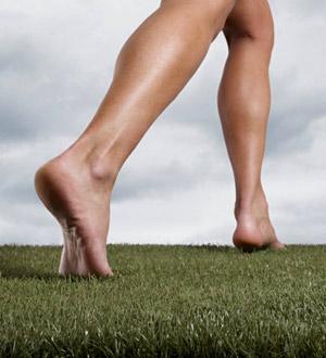 Barefoot Running - Woman